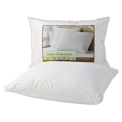 Home Classics Down Surround Firm-Support Standard Pillow