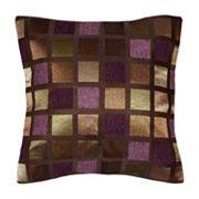 Spencer Home Decor Windowpane Geometric Throw Pillow
