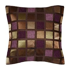 Spencer Home Decor Windowpane Geometric Throw Pillow