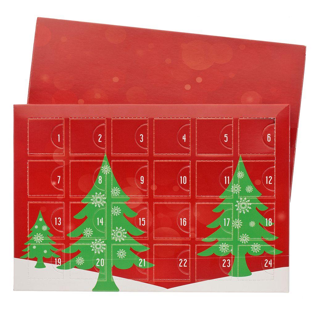 Advent Calendar Christmas Charm, Bracelet & Necklace Set