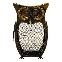New View Metal Owl Cork Collector