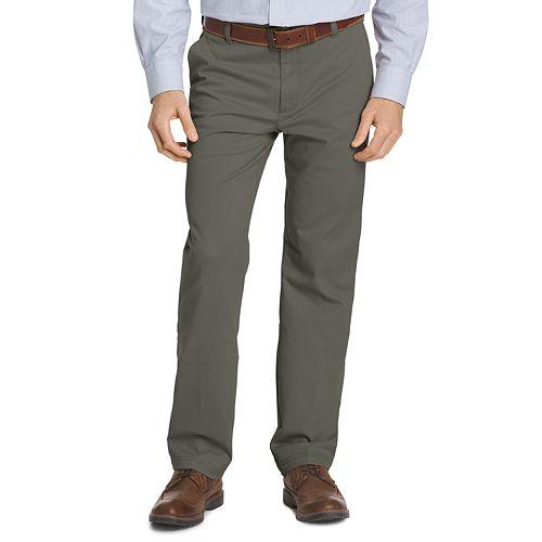 Men's IZOD Classic-Fit Performance Flat-Front Pants