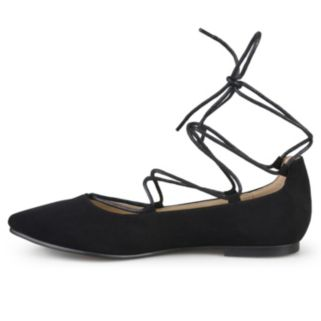 Journee Collection Fiona Women's Lace-Up Flats