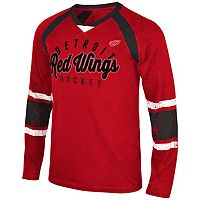 Men's Detroit Red Wings Lineman Tee