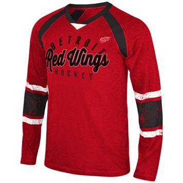 Men's Detroit Red Wings Lineman Tee