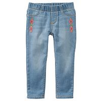 Girls 4-8 OshKosh B'gosh® Embroidered Jeggings