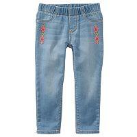 Girls 4-8 OshKosh B'gosh® Embroidered Jeggings