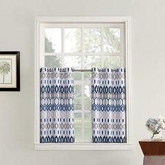 Top of the Window 1-Panel Vesper Light Filtering Kitchen Tier