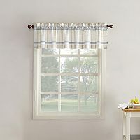 Top of the Window Monroe Plaid Light Filtering Window Valance - 54'' x 14''