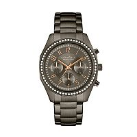 Caravelle New York by Bulova Women's Crystal Stainless Steel Chronograph Watch - 45L161