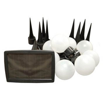 LumaBase White Solar Lights 8-piece Set