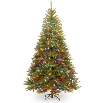 National Tree Company 7.5-ft. Dunhill Fir Hinged Pre-Lit Artificial Christmas Tree