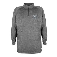Men's Stitches New York Yankees Charcoal Fleece Pullover