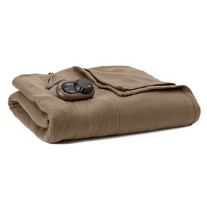 Sunbeam Slumber Rest Fleece Electric Blanket