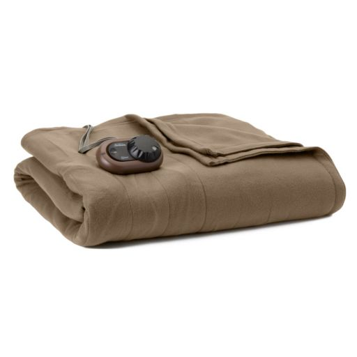 Sunbeam Slumber Rest Fleece Electric Blanket
