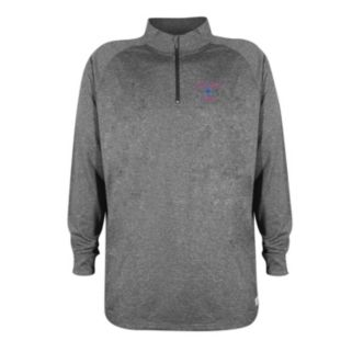 Men's Stitches Chicago Cubs Charcoal Fleece Pullover