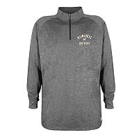 Men's Stitches Milwaukee Brewers Charcoal Fleece Pullover