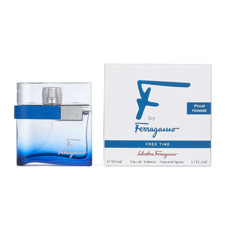 Salvatore Ferragamo Free Time Men's Cologne, Size: 1.0 Oz Salvatore Ferragamo Free Time is a fragrance for a man in search of escape and freedom. FRAGRANCE NOTES Pink pepper, ginger, white cedarwood and vetiver 1.0 oz. Eau de toilette Color: Multicolor. Gender: male. Age Group: adult.