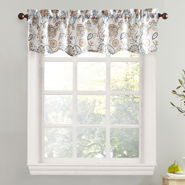 Top Of The Window Signy Light Filtering Window Valance   54u0027u0027 X 14u0027