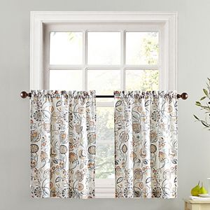 Top of the Window 1-pack Signy Light Filtering Kitchen Tier Curtain