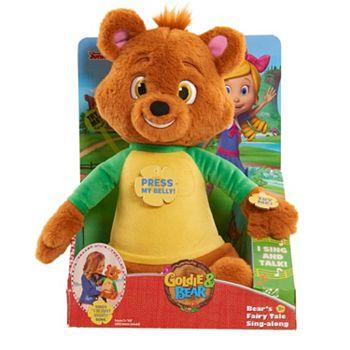 Disneys Goldie Bear Bears Fairy Tale Sing Along Plush Toy