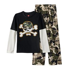 Boys Hanes Pajama Set