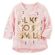 Girls 4-8 OshKosh B'gosh® 'Free Hugs' Space-Dye Tee