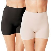Warner's 2-Pack Thigh Shaping Shorts WA1360