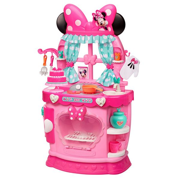 Disney S Minnie Mouse Minnie S Bow Tique Sweet Surprises Kitchen Play Set