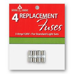 National Tree Company 4 pk3A / 120V Replacement Light Fuses