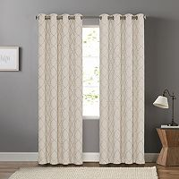 SONOMA Goods for Life™ Embroidered Trellis Dynasty Window Curtain