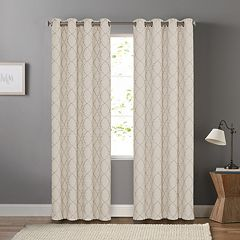SONOMA Goods for Life™ Blackout 1-Panel Embroidered Trellis Dynasty Window Curtain