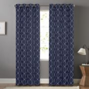 SONOMA Goods for Life? Blackout 1-Panel Embroidered Trellis Dynasty Window Curtain