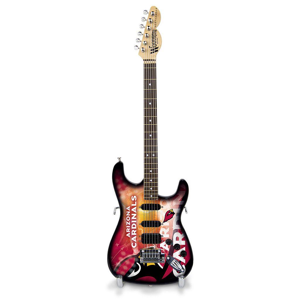 Arizona Cardinals NorthEnder Collector Series Mini Replica Electric Guitar