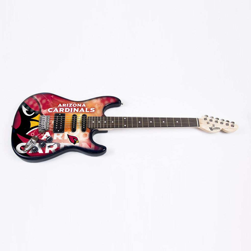 Arizona Cardinals NorthEnder Collector Series Mini Replica Electric Guitar