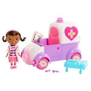 Disney's Doc McStuffins & Rosie The Rescuer Ambulance set