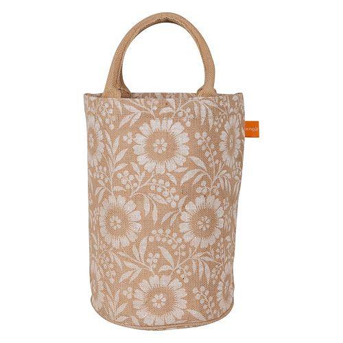 KAF HOME Colette Jute Bucket Bag