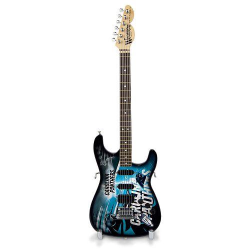 Carolina Panthers NorthEnder Collector Series Mini Replica Electric Guitar