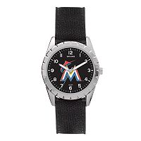 Kids' Sparo Miami Marlins Nickel Watch