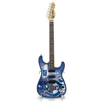 Indianapolis Colts NorthEnder Collector Series Mini Replica Electric Guitar