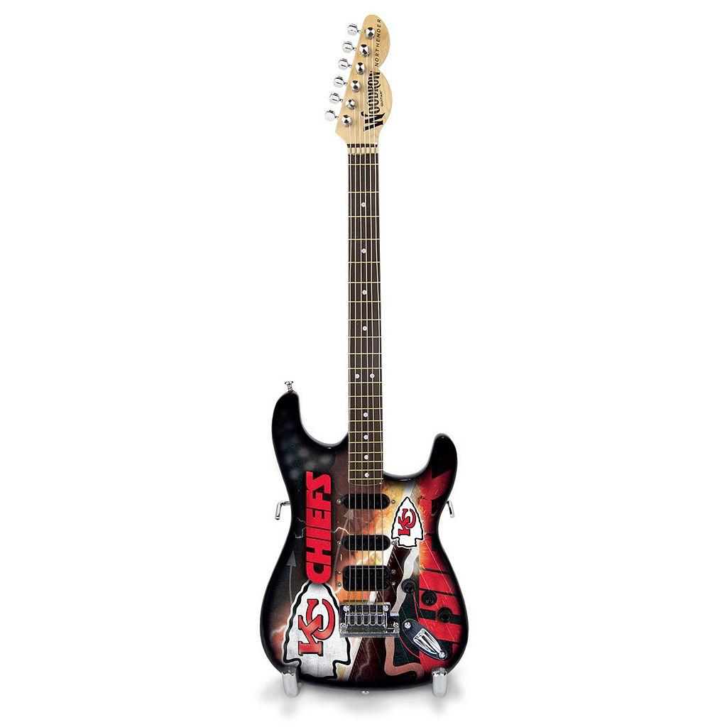 Kansas City Chiefs NorthEnder Collector Series Mini Replica Electric Guitar