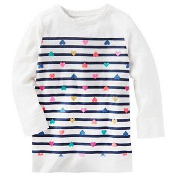 Girls 4-6x OshKosh B'gosh® Heart & Striped Tunic