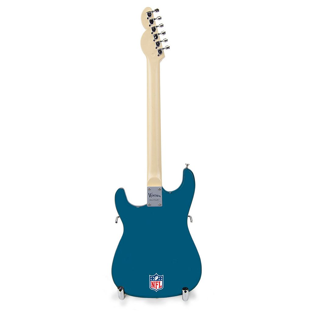 Miami Dolphins NorthEnder Collector Series Mini Replica Electric Guitar