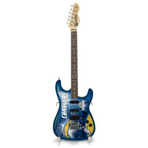 San DiegoChargers NorthEnder Collector Series Mini Replica Electric Guitar