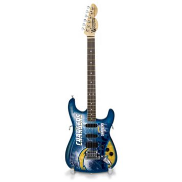 San Diego Chargers NorthEnder Collector Series Mini Replica Electric Guitar