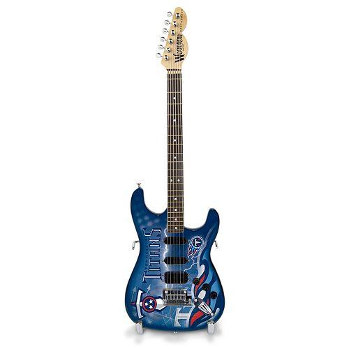 Tennessee Titans NorthEnder Collector Series Mini Replica Electric Guitar