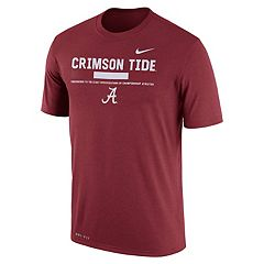 Men's Nike Alabama Crimson Tide Legend Staff Dri-Fit Tee