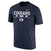 Men's Nike BYU Cougars Legend Staff Dri-Fit Tee