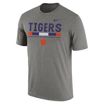 Men's Nike Clemson Tigers Legend Staff Dri-Fit Tee