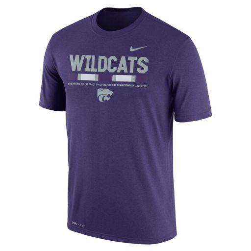 Men's Nike Kansas State Wildcats Legend Staff Dri-Fit Tee